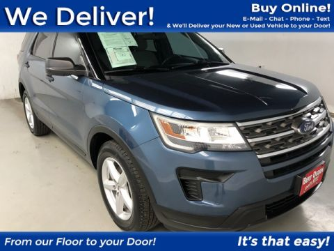 Pre-Owned 2018 Ford Explorer Base FWD 4D Sport Utility