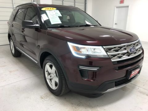 Pre-Owned 2018 Ford Explorer XLT FWD 4D Sport Utility