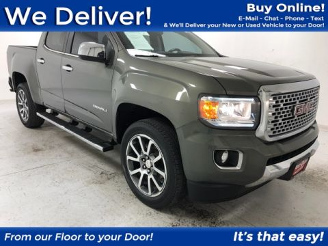 Pre-Owned 2017 GMC Canyon Denali RWD 4D Crew Cab