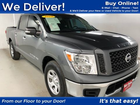 Pre-Owned 2019 Nissan Titan SV RWD 4D Crew Cab