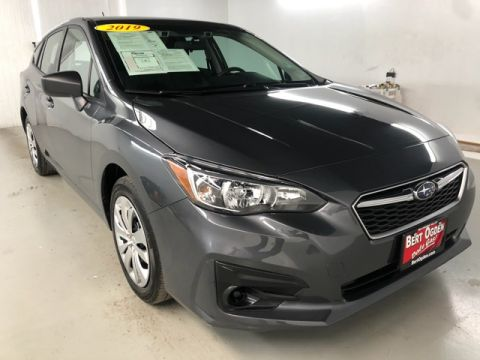 Pre-Owned 2019 Subaru Impreza 2.0i AWD 4D Hatchback